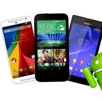 Android puhelimet