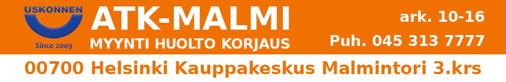 Atk-Malmi.Fi – Käytetyt kannettavat tietokoneet. Atk-Huolto Helsinki Malmi. Halpa käytetty kannettava!